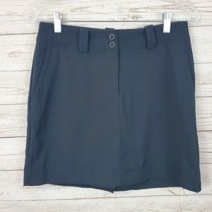 Nike Golf Tour Performance Dri Fit Black Skirt